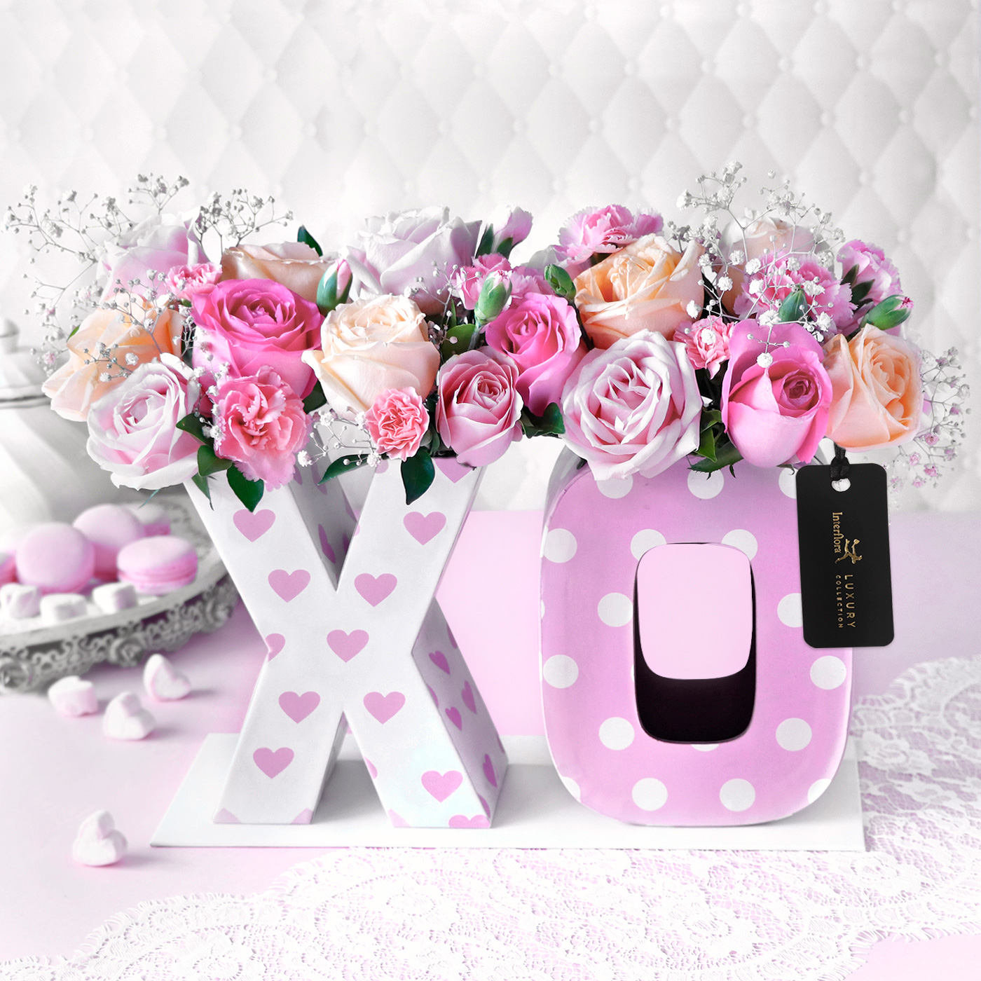 hugs and kisses flowers
